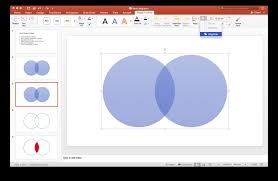 How To Make A Venn Diagram On Google Slides How To Create A Venn Diagram With Independent Intersections