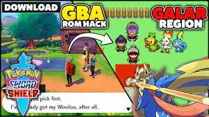 New Pokemon GBA ROM HACK With Galar Region & Gen 8! (Pokemon Sword & Shield)  - YouTube