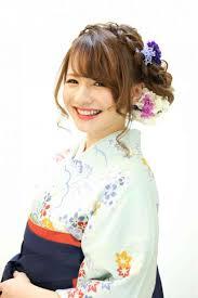振袖 髪型 洋風 Utsukushi Kami