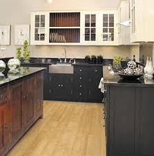 Neoteric Design Inspiration Black And White Kitchen Cabinets Innovative  Ideas More Like This.black Bottom Top