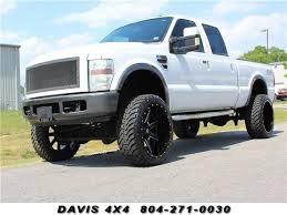 Details about 2008 Ford F-250 Diesel Lifted Super Duty Lariat FX4 4X4 Crew Cab