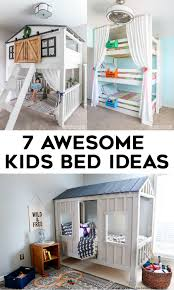 7 awesome diy kids bed plans and ideas bunk beds loft bedore