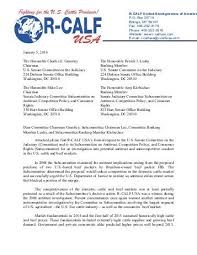Cover Letter To Senate And House Energy Chairs Legalectric