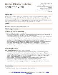 Marketing Job Resume Examples Director Of Digital Marketing Resume Samples Qwikresume