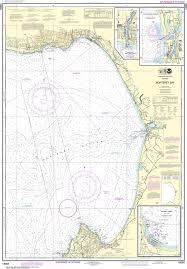 Noaa Nautical Chart 18685 Monterey Bay Monterey Harbor Moss Landing Harbor Santa Cruz Small Craft Harbor