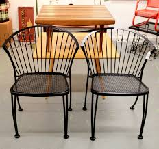 pair of mid century modern patio chairs 1960 s square slat coffee table sold 1950 s paul mccobb coffee table sold