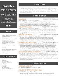 User Experience Designer Resume Mesmerizing Yoerges UX Resume