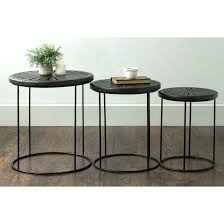 round nesting tables coffee table amazing marble glass stacking within end target australia a nesting tables
