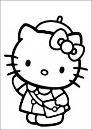 Coloring pages are learning activity for kids, this website have coloring pictures for print and color. Hello Kitty Free Printable Coloring Pages For Kids