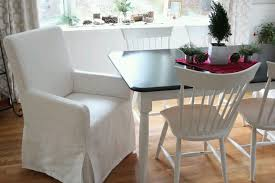 Living Room Chair Slipcovers Your Dining Room With Stylish Slipcovers Living Room And Dining