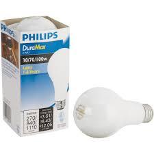 3 Way Light Lamp Philips 169474 30 70 100 Watt A21 3 Way Light Bulb For Sale