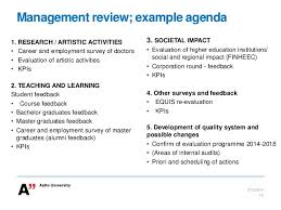 Quality Of Work Example Aalto University Quality Work Building A Quality System