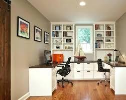 double office desk. Houzz Home Office Elegant Double Desk Lighting