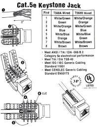 28 [ cat5 keystone wiring diagram ] cat6 568b wiring diagram  at Category 5e Keystone Jack Wiring Diagram Free Download