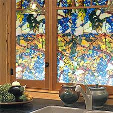stained glass window decals home decor 1 faux stained glass window decals