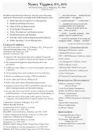Ideas Of Resume Clinic Nurse Nurse Rn Resume Example