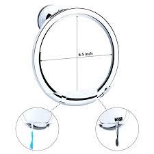 best shower mirror best shower shaving mirror anti fog shower mirror target