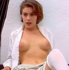 Apart from the above movies  Alyssa Milano also found time to do a topless  shoot for Bikini Magazine which was alright but the shots of her covered in  mud