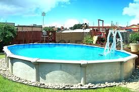 semi inground pool cost. Semi Inground Pool Cost Radiant Prices Metric Series Pools Buffalo Ny