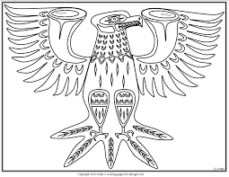 Fantastic Native American Art Coloring Pages
