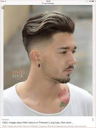 Fashion Hairstyle For Boys Engaging Hairstyles Men Haircut With