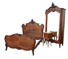 Louis Xv Bedroom Furniture Impressive Antique French Louis Xv Style Rococo Walnut Bedroom