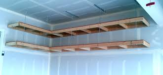 build garage wall shelves lovely custom diy wood wall mounted and hanging garage storage shelves ideas