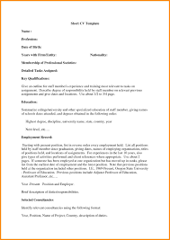 7 How To Write A Brief Resume Villeneuveloubet Hotel Reservation