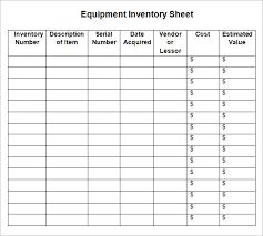 Free 12 Sample Inventory Sheets In Google Docs Google