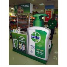 In Store Display Stands Popon Image Gallery Dettol In Store Demo Display 86