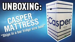 casper mattress king size. unboxing the casper mattress king size