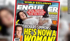 richard simmons woman. national enquirer\u0027s richard simmons cover woman n