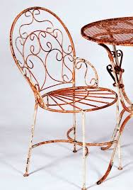 wrought iron bistro chairs wrought iron bistro table 2 chairs set