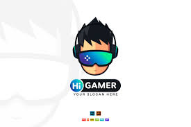 A cool gaming logo will help you stand out from the competition, and it's easy to create one with an online logo maker. Hi Gamer Gaming Logo Design Creative Illustrator Templates Creative Market