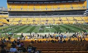 Steelers Seating New Jets Seating Chart At Stadium Rows