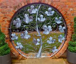 Small Picture small metal garden gate Garden art and sculpture Rose Arches