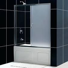 frameless bathtub shower doors infinity tub door infinity tub door frosted glass frameless bath shower doors