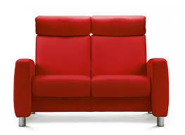 stressless arion high back 2 seater sofa