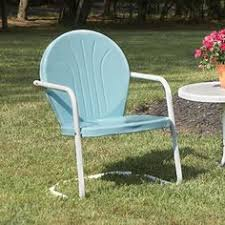 retro metal outdoor furniture. Plain Furniture Retro Metal Lawn Chair 8995 Timeless Style With Modern Durability Our  Outdoor For Furniture G