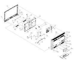 vizio lcd television parts model evl sears partsdirect find part by diagram >