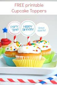 Free Printable Cupcake Template Topper Templates Design