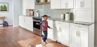 cabinets with white kitchen doors