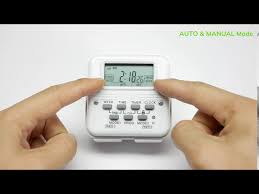 bn link digital timer independently
