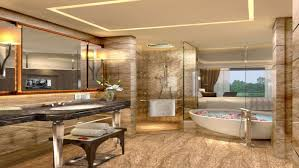 Hotel Bathroom Designs Kempinski Ambience Delhi Ample Open Space Is The Biggest Reason