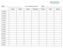 time chart template printable time management charts