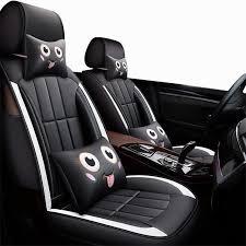 front rear special leather car seat covers for lada granta hyundai kia rio