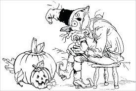 600x399 coloring pages 5 little pumpkins 5 little pumpkins coloring page