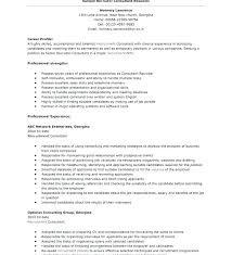 Optician Resumes Recruiter Resume Example Bilingual Recruiter Resume Luxury Nursing