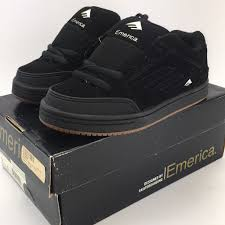 Emerica Size Chart Emerica Shoes Emerica Heretic 2 Youth Sizes Black Vintage