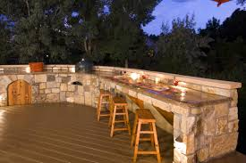 Outdoor Kitchen Lighting Video And Photos Madlonsbigbearcom - Outdoor kitchen lighting ideas